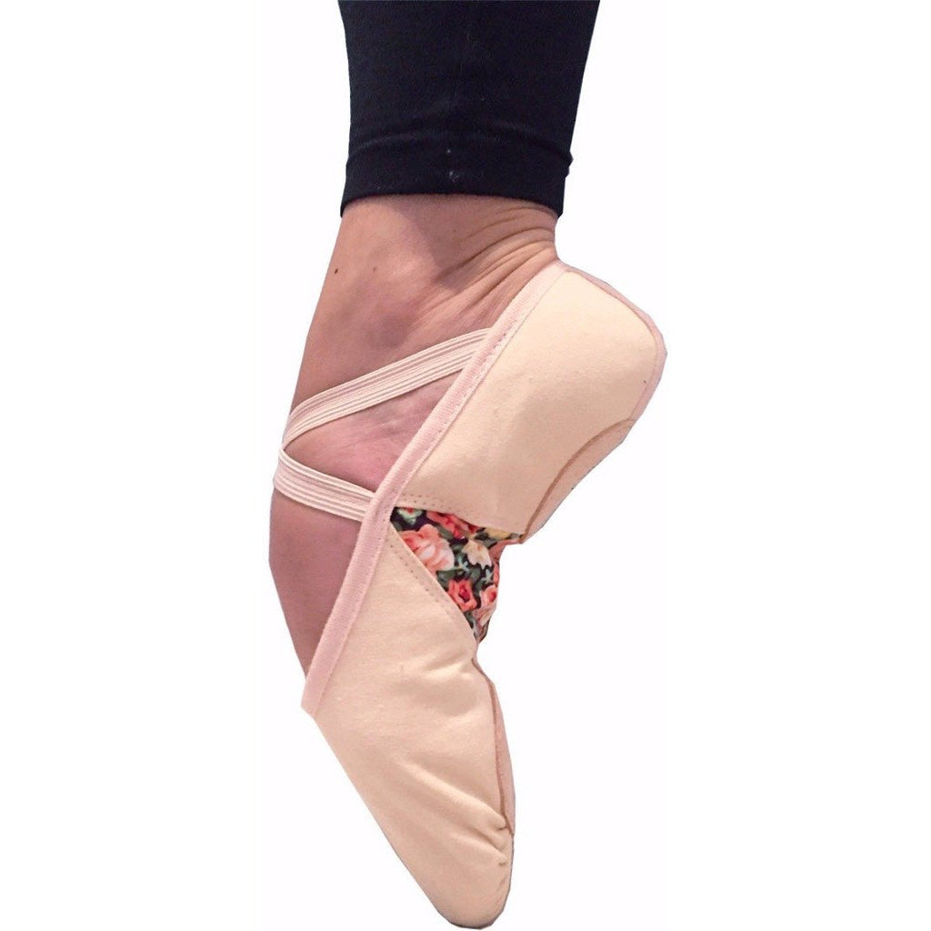 Helen of Troy, Pink Dance/Ballet Shoes. Unique floral print in the arch