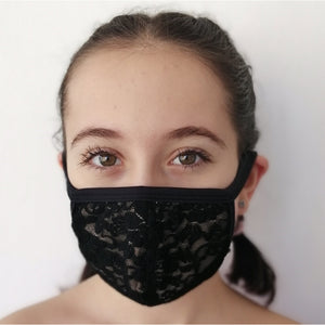 BAW2019B Face Mask (Lace)