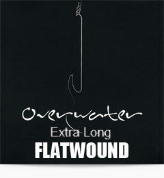 Overwater Extra Long Flatwound String String Set
