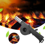 Stainless Steel BBQ Hand Fan Manual Barbecue Fan Air Blower For Outdoor Barbecue Fire Picnic Camping Cooking Tools