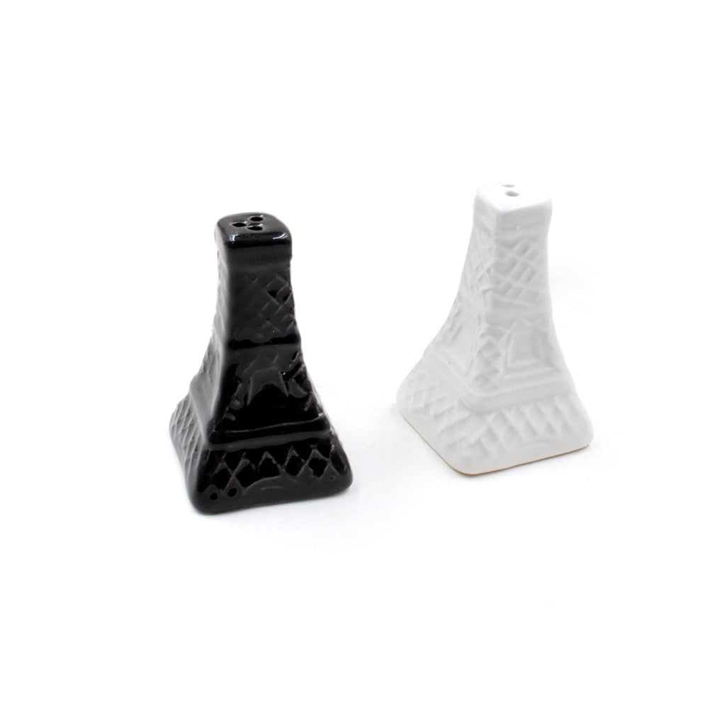 2pcs Eiffel Tower Salt Pepper Shaker Vintage