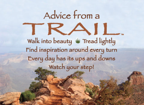 Advice from a Trail- Grand Canyon National Park Jumbo Magnet