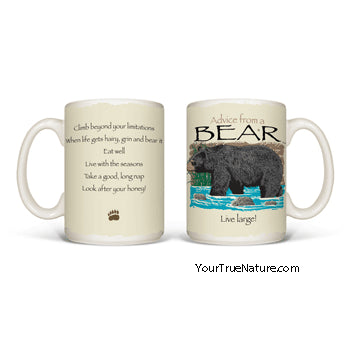 Advice from a Bear Mug