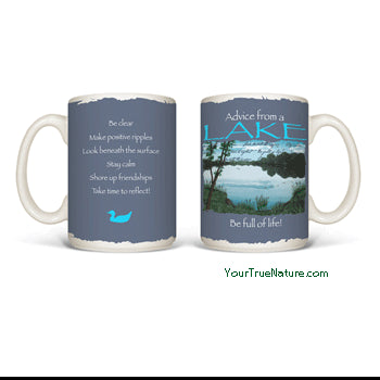Advice from a Lake Mug