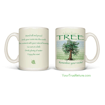 Advice from a Tree Mug