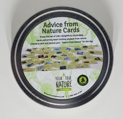 Advice from Nature Tin