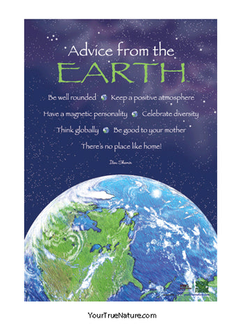 Advice from the Earth Mini Poster