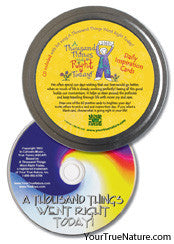 1000 things went right today card tin and CD set