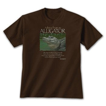 Advice from an Alligator T-Shirt