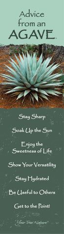 Advice from an Agave- Laminated Bookmark