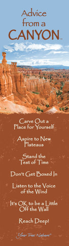 Advice from a Canyon - Bryce Canyon National Park - Laminated Bookmark