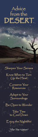 Advice from the Desert Laminated Bookmark