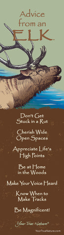 Advice from an Elk Laminated Bookmark