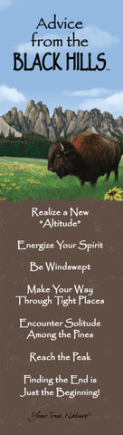 Advice from the Black Hills Laminated Bookmark