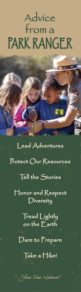 Advice from a Park Ranger Laminated Bookmark – Your True Nature, Inc