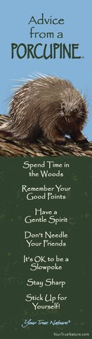 Advice from a Porcupine Laminated Bookmark