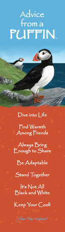 Advice from a Puffin Laminated Bookmark