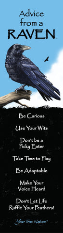 Advice from a Raven Laminated Bookmark