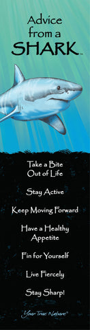 Advice from a Shark Laminated Bookmark