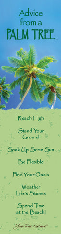 Advice from a Palm Tree Laminated Bookmark