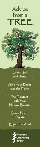 Advice from a Tree- Project Learning Tree- Laminated Bookmark