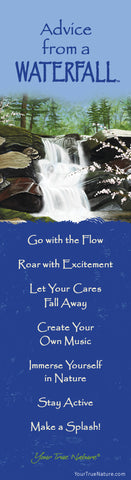 Advice from a Waterfall Laminated Bookmark