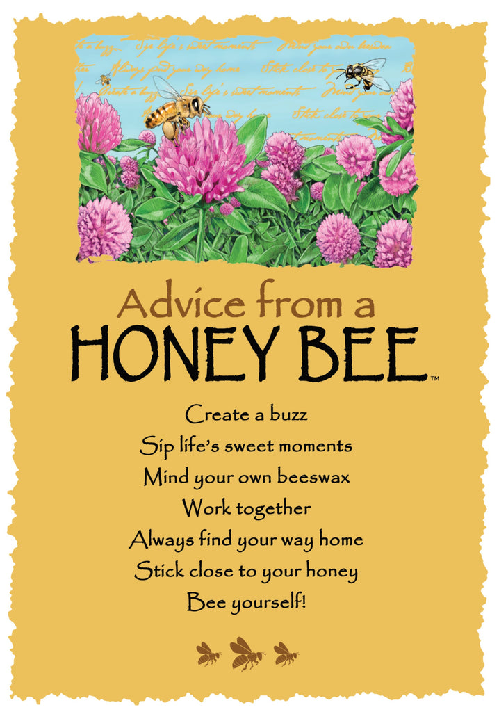 Advice from a honey bee greeting card blank your true nature inc advice from a honey bee greeting card blank m4hsunfo