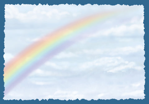 Advice from a Rainbow Greeting Card - Blank