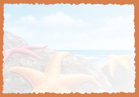 Advice from a Starfish Greeting Card - Blank