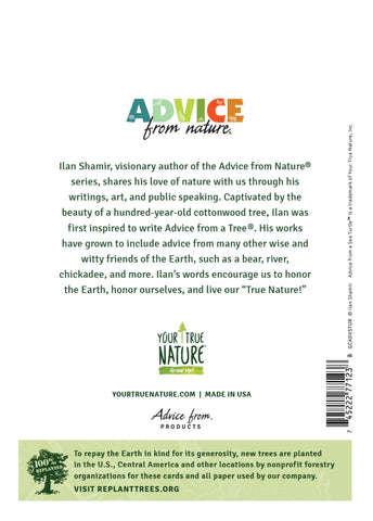 Advice from a Sea Turtle Greeting Card - Blank