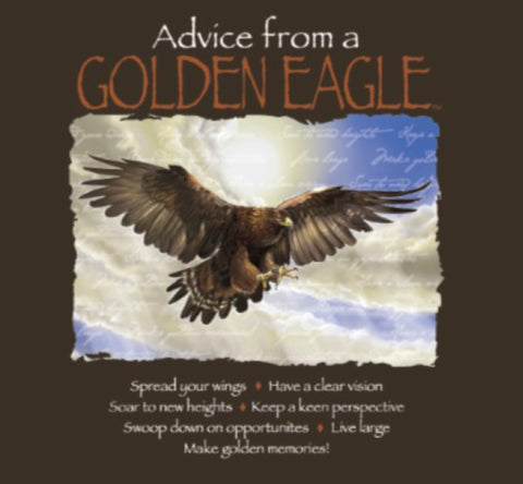 Advice from a Golden Eagle T-Shirt