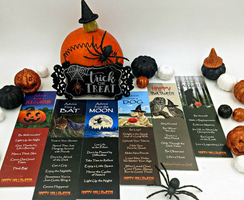 Advice from Halloween - Unlaminated Bookmark Set