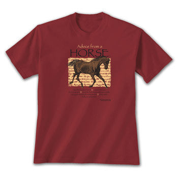 Advice from a Horse T-Shirt