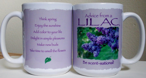 Advice from a Lilac Mug