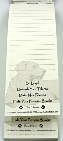 Advice from a Dog Listpad