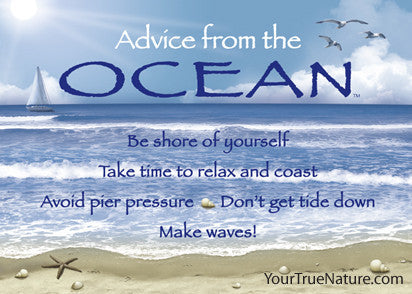 Advice from the Ocean Jumbo Magnet