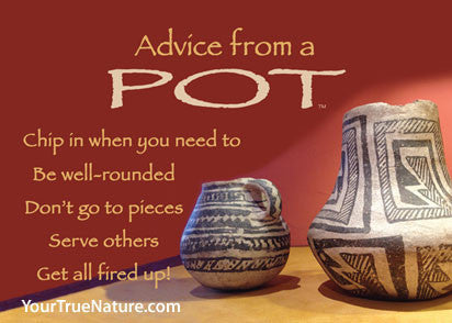 Advice from a Pot Jumbo Magnet