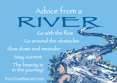 Advice from a River Jumbo Magnet