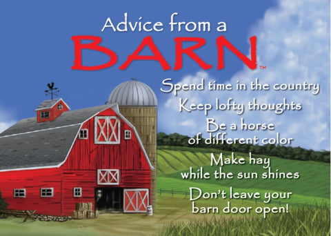 Advice from a Barn Jumbo Magnet