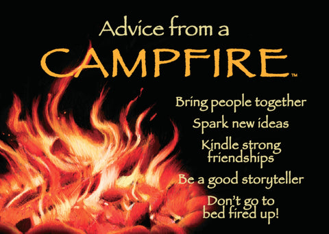Advice from a Campfire Jumbo Magnet