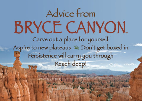 Advice from Bryce Canyon Jumbo Magnet