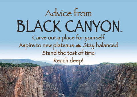 Advice from Black Canyon Jumbo Magnet