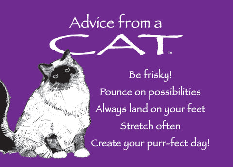Advice from a Cat Jumbo Magnet