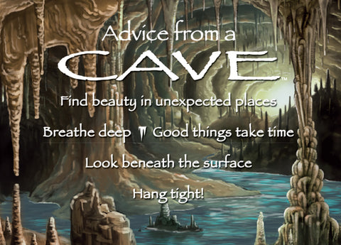 Advice from a Cave Jumbo Magnet