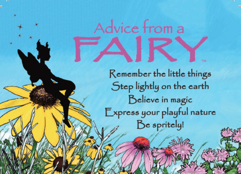Advice from a Fairy Jumbo Magnet