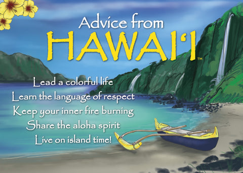 Advice from Hawai'i Jumbo Magnet