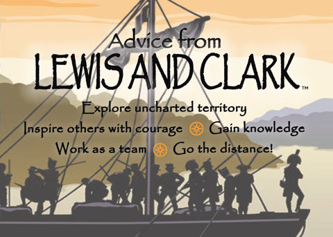 Advice from Lewis and Clark Jumbo Magnet