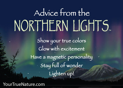 Advice from the Northern Lights Jumbo Magnet