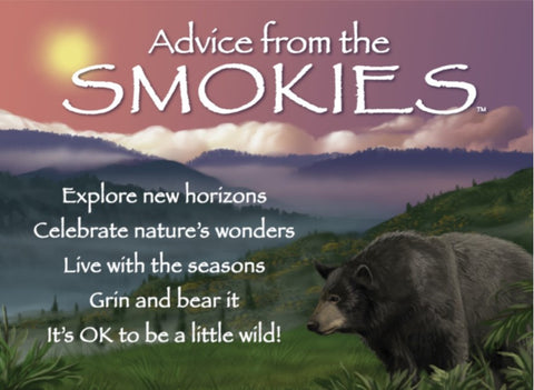 Advice from the Smokies Jumbo Magnet