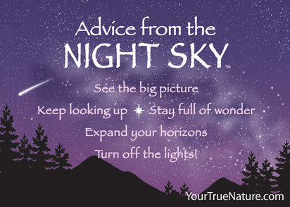 Advice from the Night Sky Jumbo Magnet